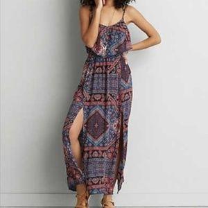 American Eagle Outfitters Boho Maxi Dress - XS